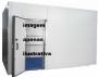 Camara frigorifica conservação  usada 18m3